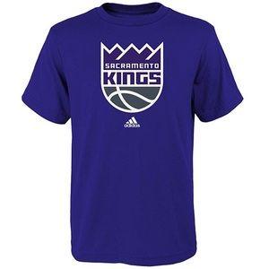 Boys Sacramento Kings The Go To Tee NWT M 5/6